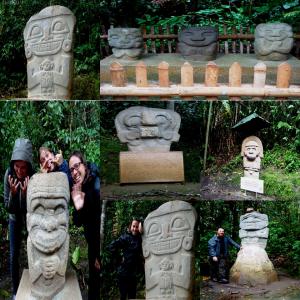 Bosque de los estatuas