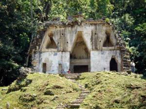 Chiapas, Palenque Archeological Zone, Temple of the Foliated Cross 1 - Photo by German Murillo-Echavarria 0406