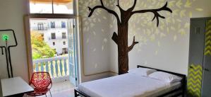 Panama-hostel-bedroom